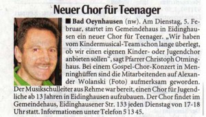 teenager chor